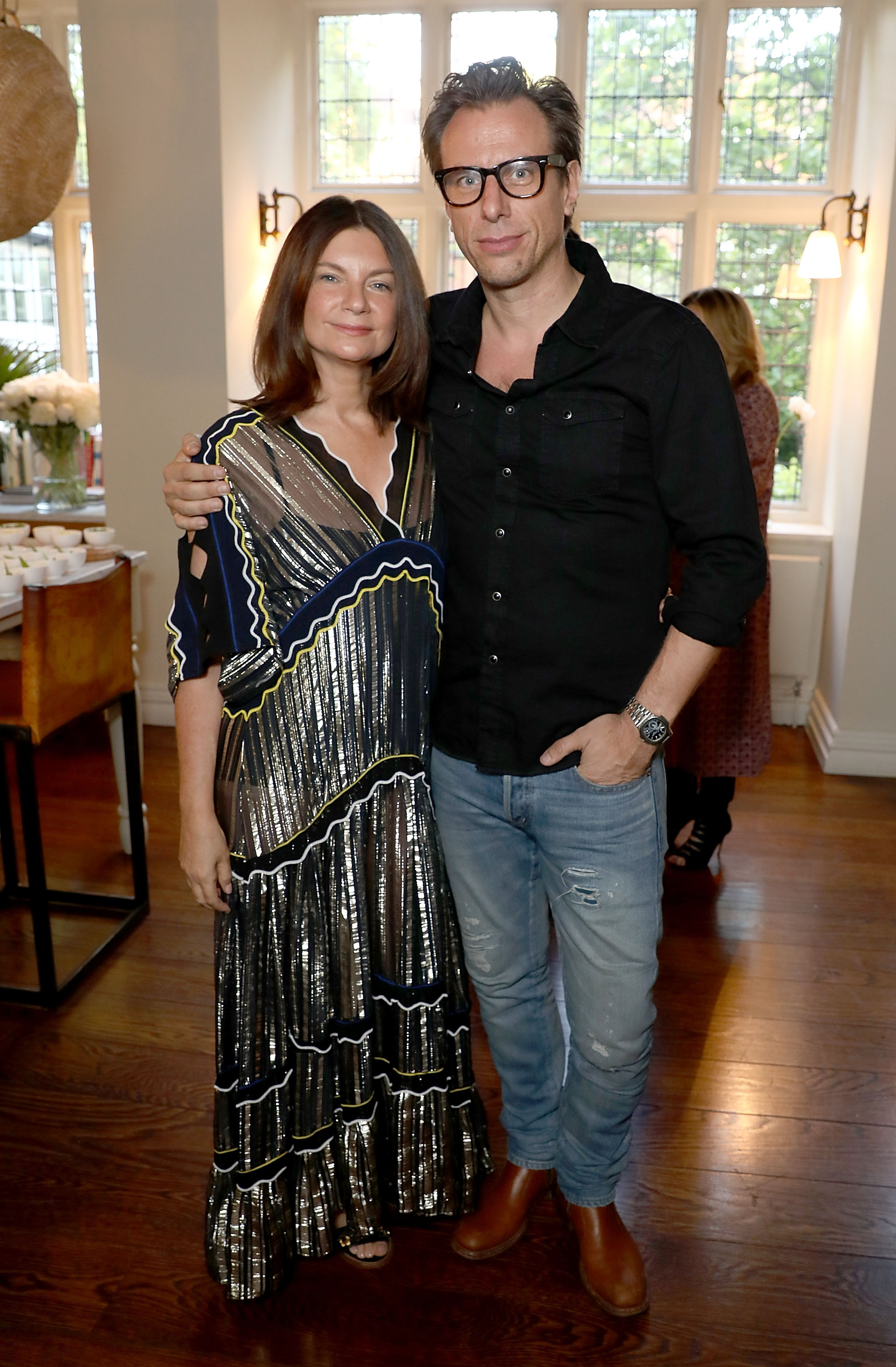 Natalie Massenet and Erik Torstensson