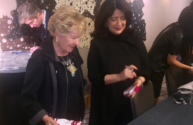 Laurice Rahmé signs her Nolita lipstick and fragrance duo.
