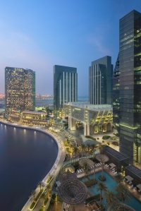 A rendering of the Galleria in Abu, Dhabi.