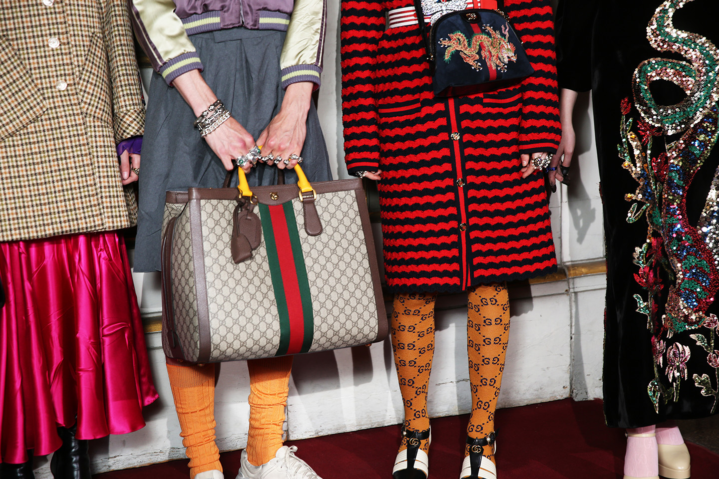 Exclusive pictures of the Gucci Resort 2018 show in Florence