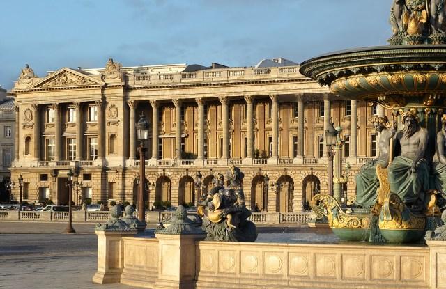The Hotel de Crillon in Paris.