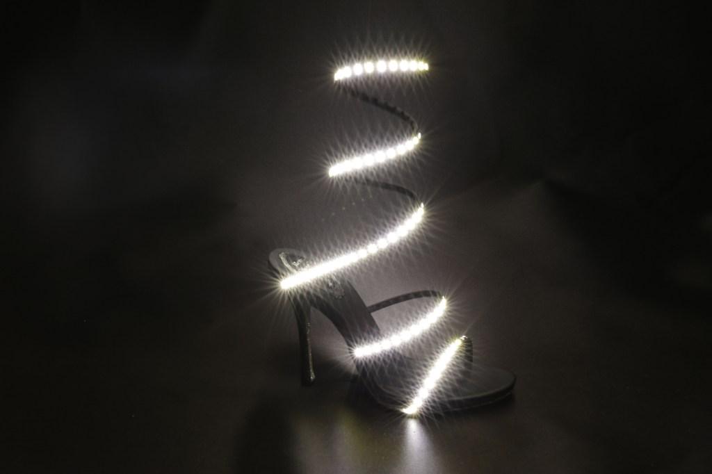 René Caovilla LED sandal.