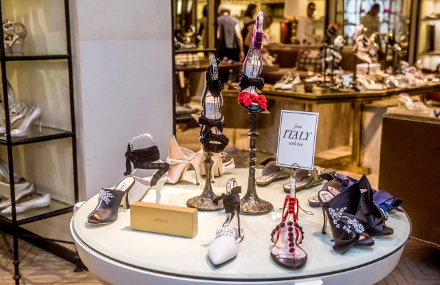 Bergdorf's is creating a stable of small Italian labels new to the store.