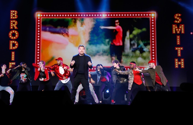 James Corden speaks onstage at YouTube #Brandcast presented by Google at Javits Center North on May 4, 2017 in New York City. (Photo by Taylor Hill/FilmMagic for YouTube )