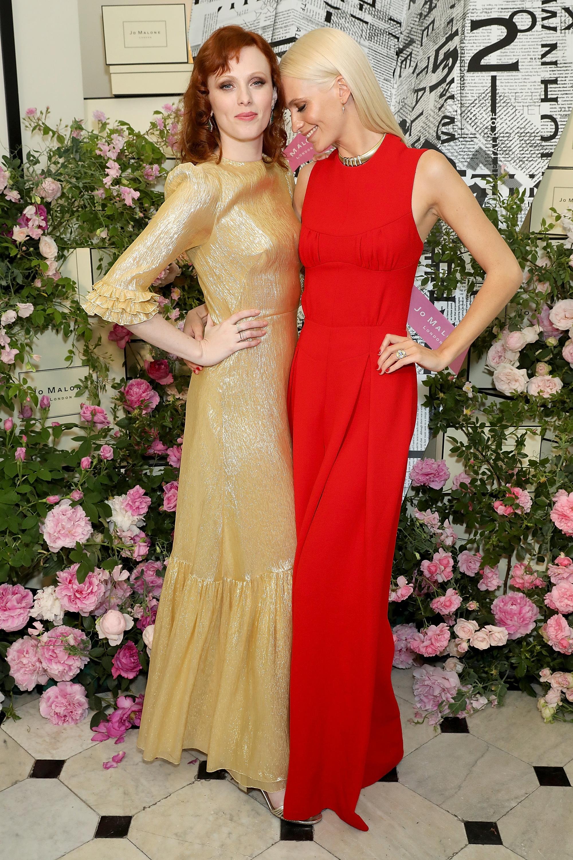 Karen Elson and Poppy Delevingne