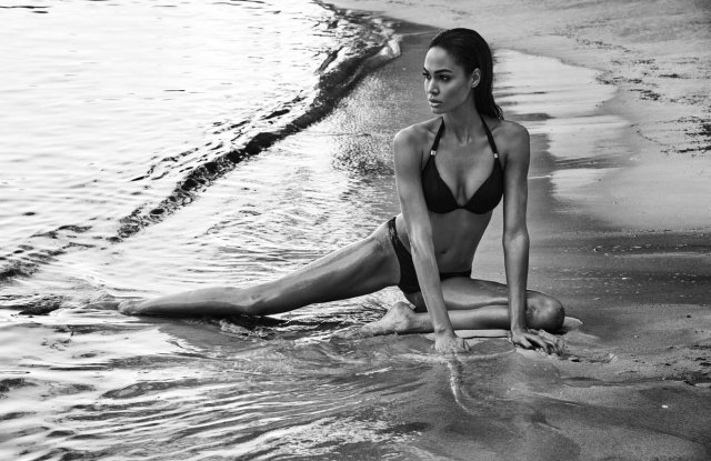 Joan Smalls in Smart and Sexy Campaign