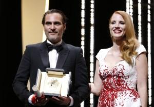 Cannes Film Festival Joaquin Phoenix Jesscia Chastain