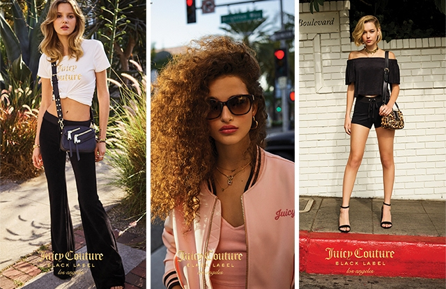 Looks from the core Juicy Couture collection.