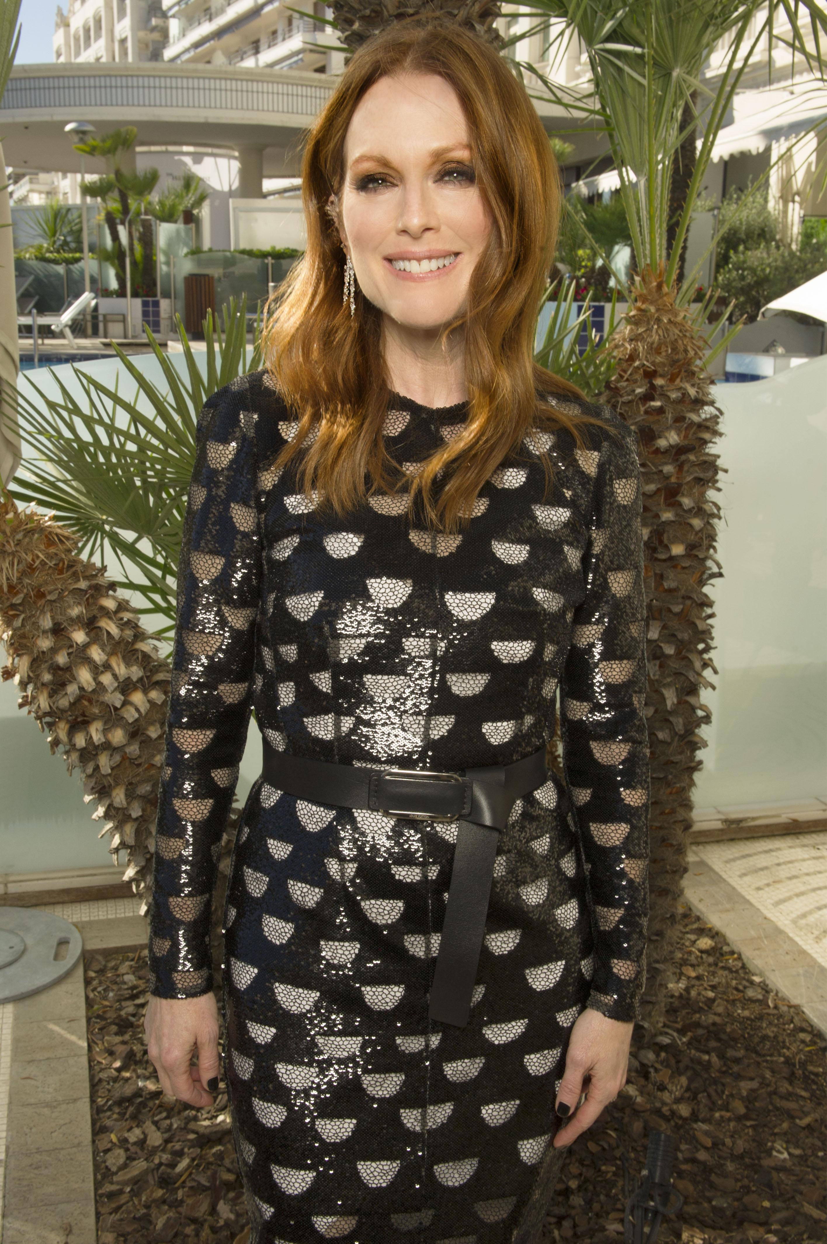 Julianne Moore in Cannes.