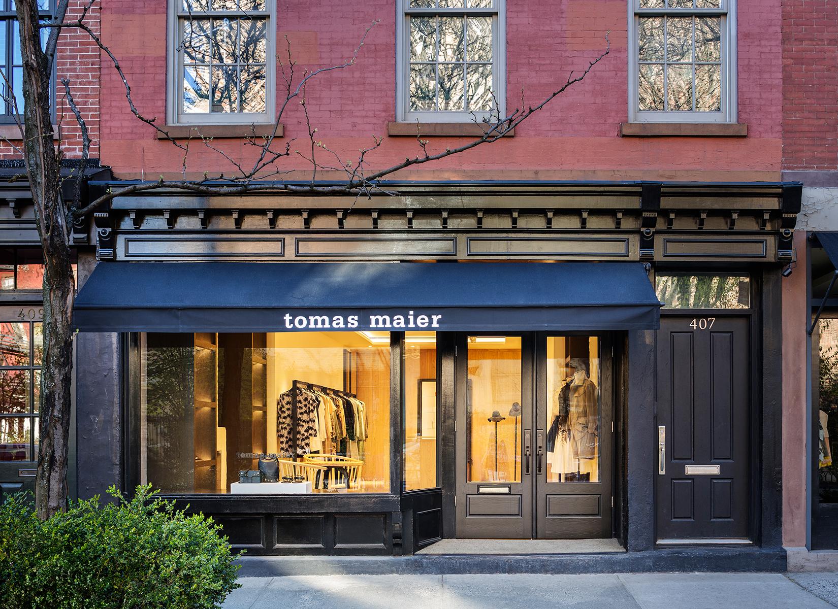 The Tomas Maier Bleecker Street store.