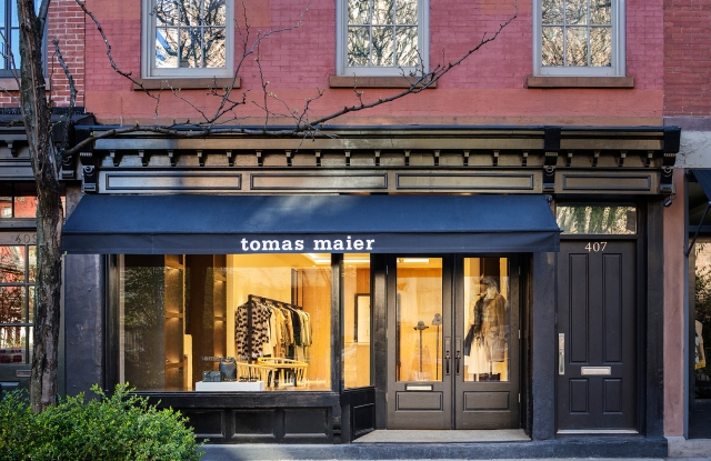The Tomas Maier Bleecker Street store.