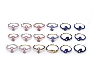 Lena Wald rings for Wear LACMA collection