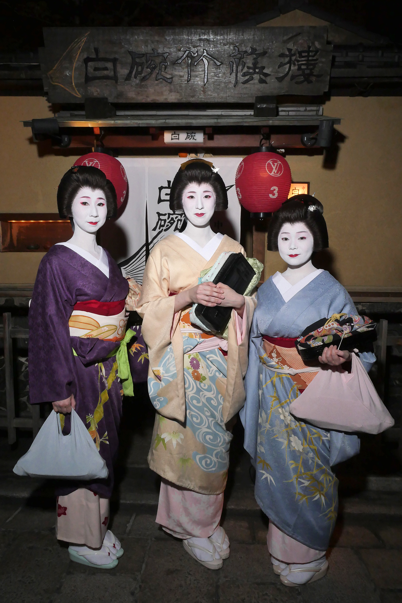 Geishas at the party