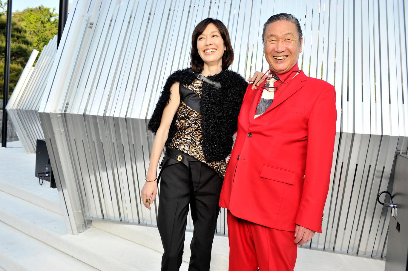 Mirai and Kansai Yamamoto