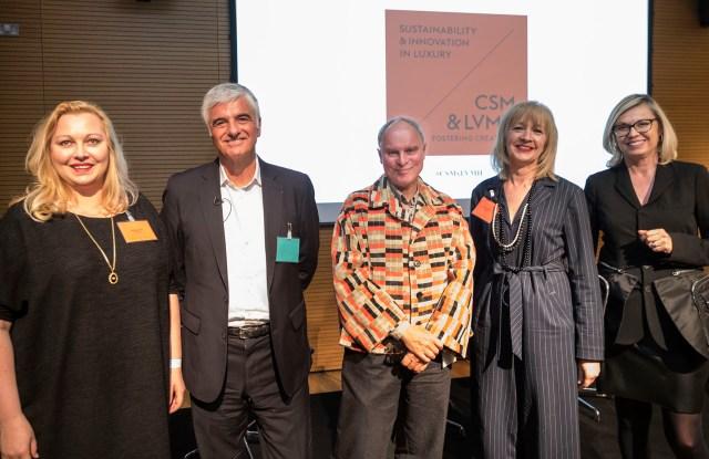 Carole Collet, Toni Belloni, Jeremy Till, Anne Smith and Chantal Gaemperle