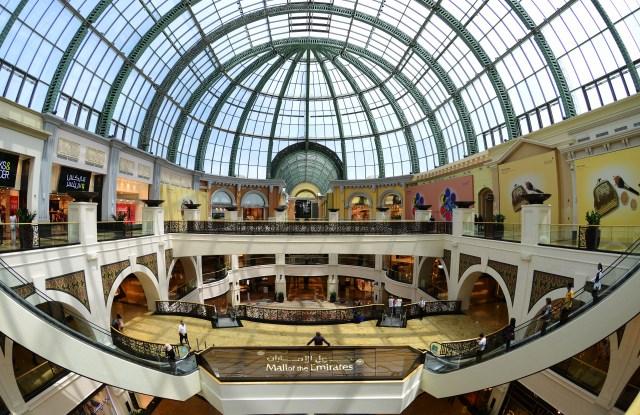Mall of the Emirates, Dubai, United Arab EmiratesDubai, United Arab Emirates - May 2013