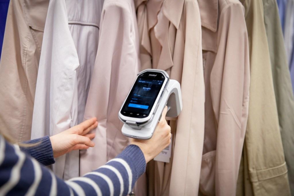 Miroglio Fashion's in-store tech devices.