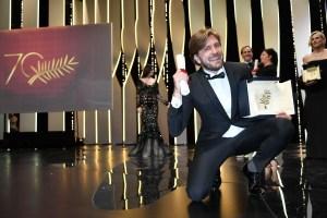 """Ruben Ostlund Palme D'Or 2017 """"The Square"""" Cannes Film Festival"""