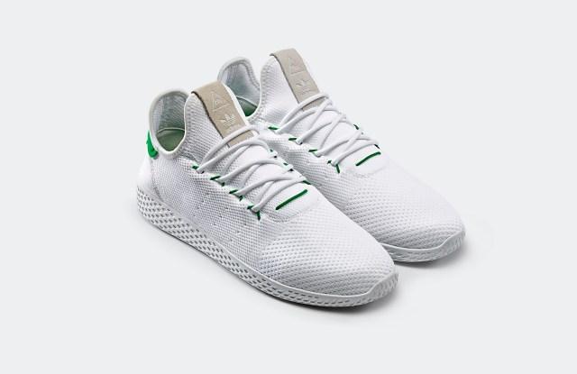 Pharrell Williams new Tennis Hu sneakers for Adidas Originals.