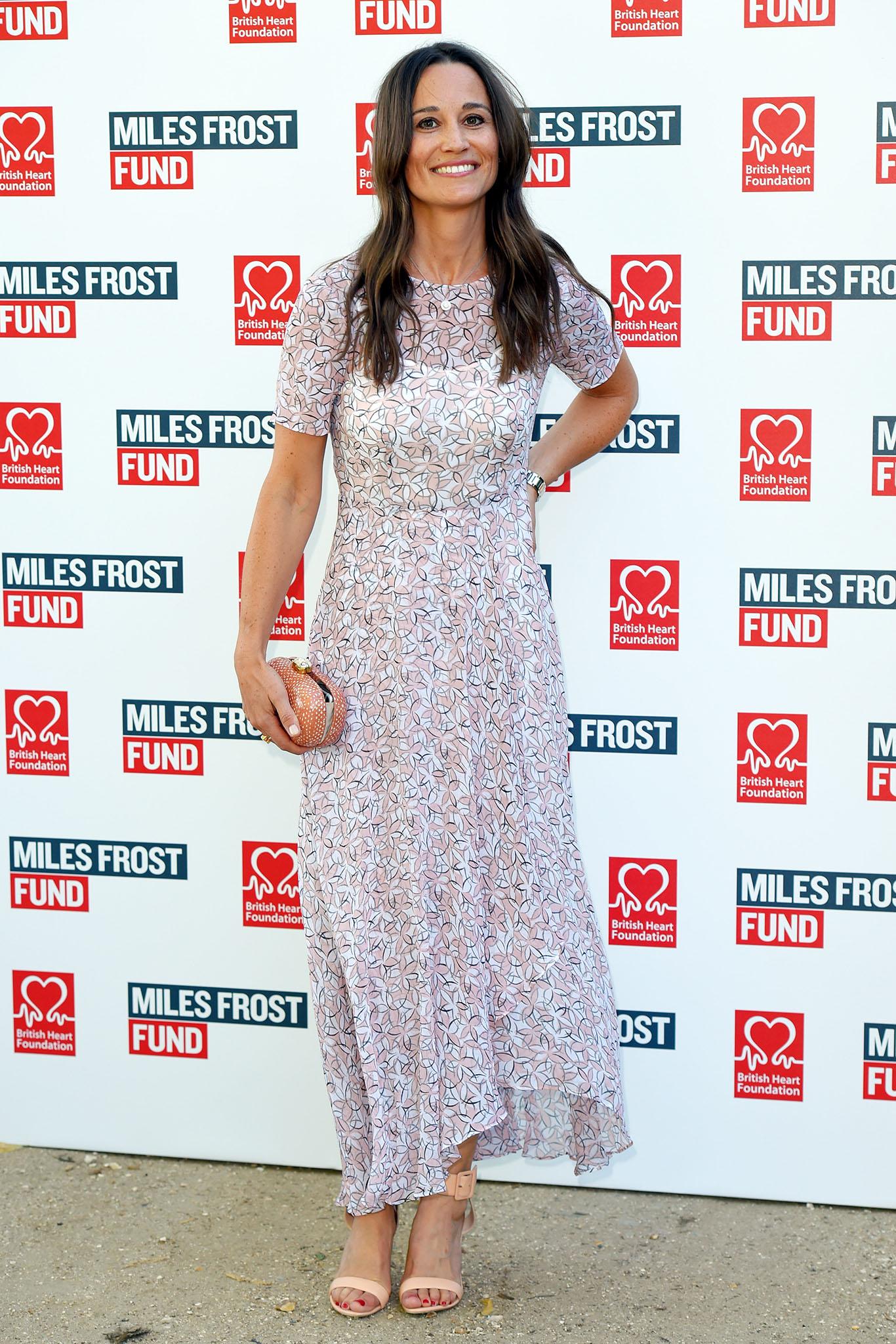 Pippa MiddletonFrost Summer Party, London, Britain - 18 Jul 2016WEARING L.K. BENNETT DRESS