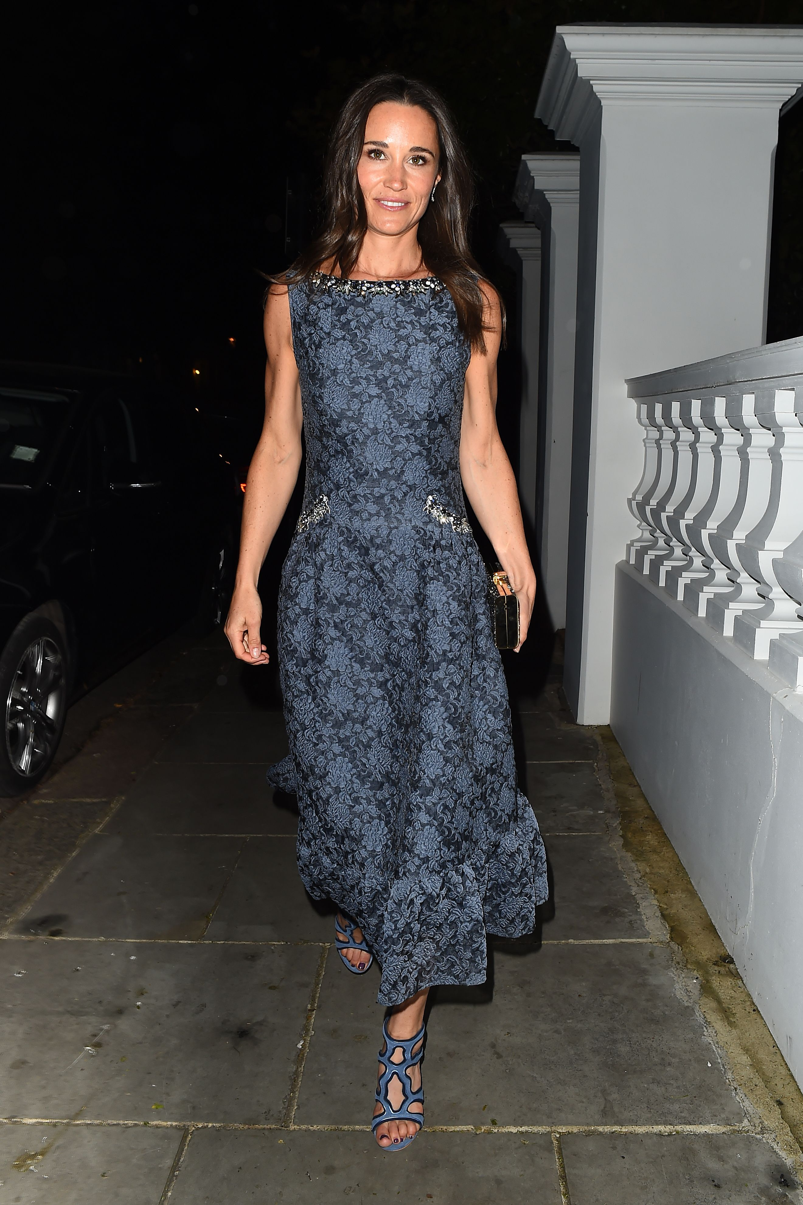 Pippa Middleton at the ParaSnowBall fundraiser held at the Hurlingham Club London