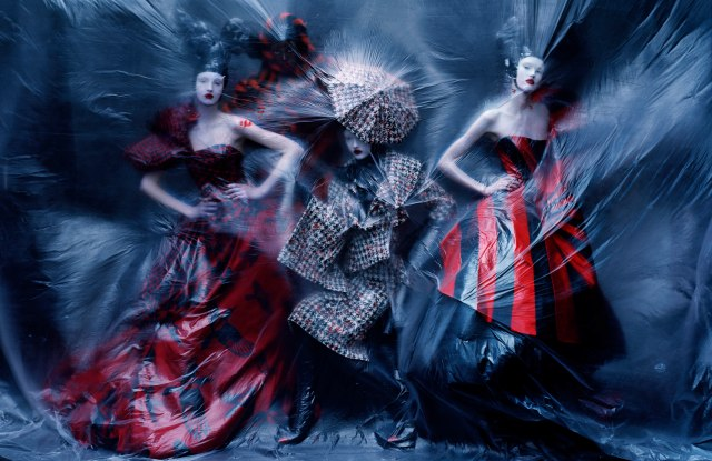 An image photographed by Tim Walker