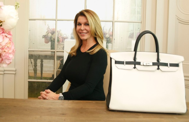 Michelle Berk at Privé Porter's showroom.