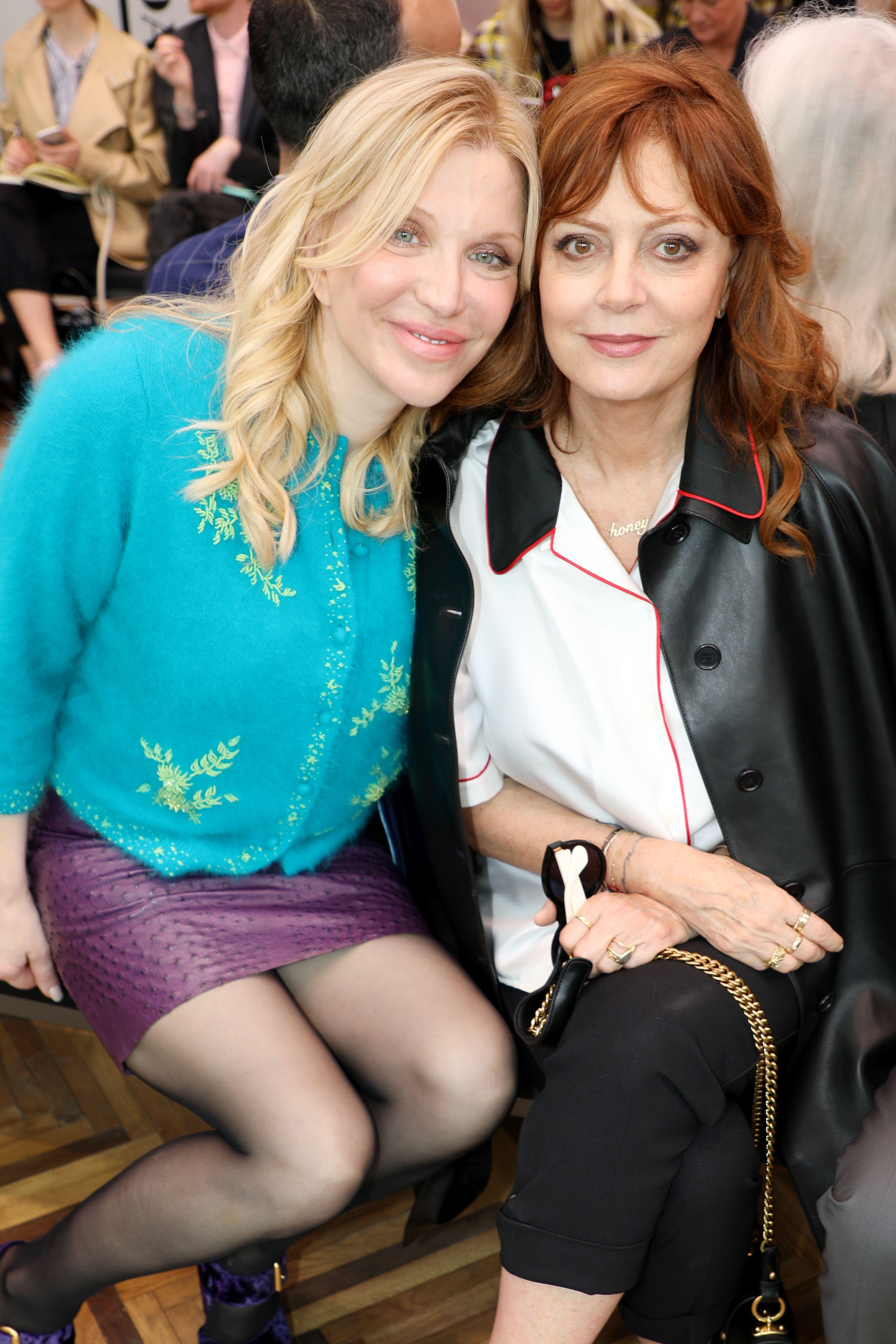 Courtney Love and Susan Sarandon