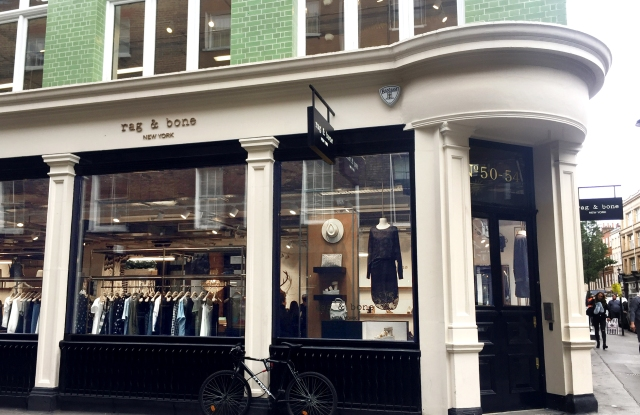 The Rag & Bone store in London