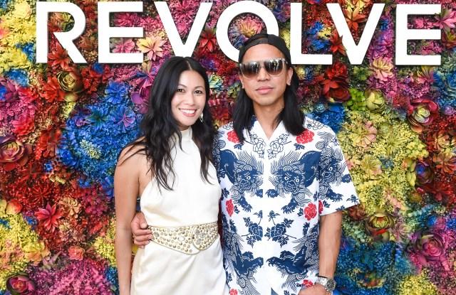 Raissa Gerona and Michael Mente of Revolve