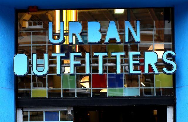 Urban Outfitters Shop Front, Covent Garden, London, England, BritainLondon, Britain - 03 Apr 2013