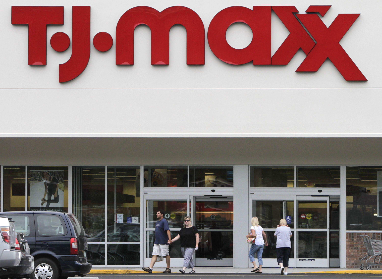 TJX tj maxx marshalls