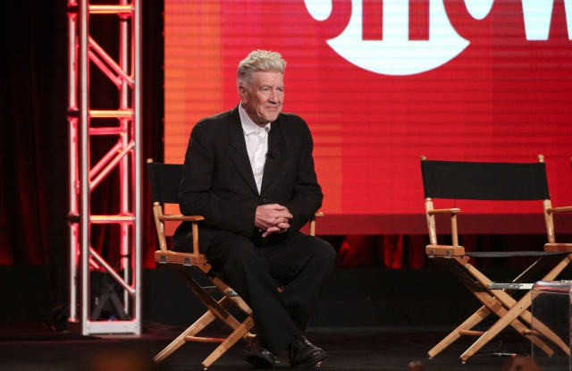David LynchShowtime's 'Twin Peaks' Panel, TCA Winter Press Tour, Day 5, Pasadena, USA - 09 Jan 2017