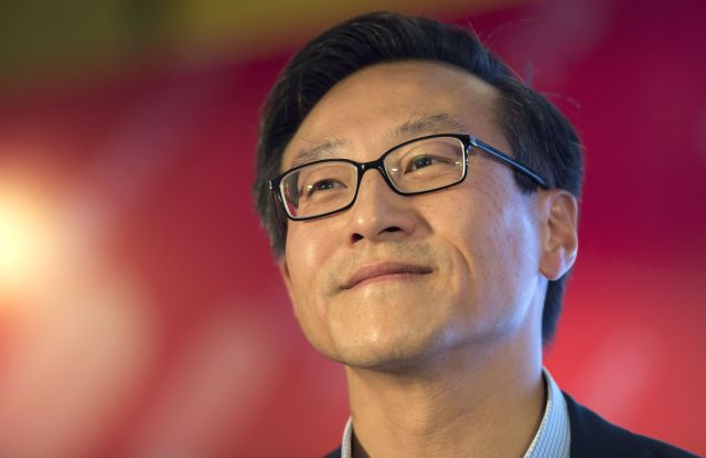 Joe Tsai Alibaba Group Vice Chairman Smiles During a Press Conference Ahead of the 2016 Alibaba Group 11 11 Global Shopping Festival in Shenzhen Guangdong Province China 10 November 2016 Starting From Midnight and Lasting Throughout the Day on 11 November Also Known As Singles' Day Alibaba Group Holds the World's Largest 24-hour Online Shopping Event China ShenzhenChina Alibaba Shopping Festival - Nov 2016Joe Tsai, Alibaba group vice chairman, smiles during a press conference ahead of the 2016 Alibaba Group 11.11 Global Shopping Festival in Shenzhen, Guangdong Province, China, 10 November 2016. Starting from midnight and lasting throughout the day on 11 November, also known as Singles' Day, Alibaba Group holds the world's largest 24-hour online shopping event.
