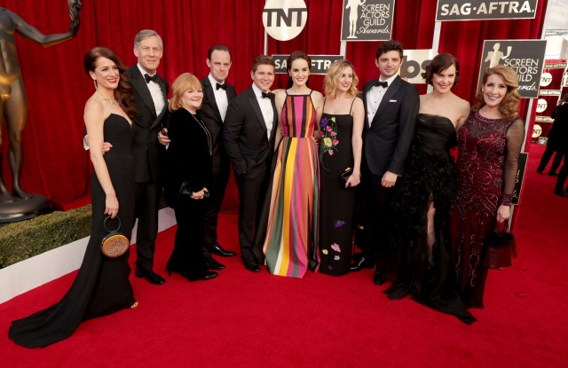 Cast of Downton AbbeyThe 23rd Annual Screen Actors Guild Awards, Los Angeles, USA - 29 Jan 2017