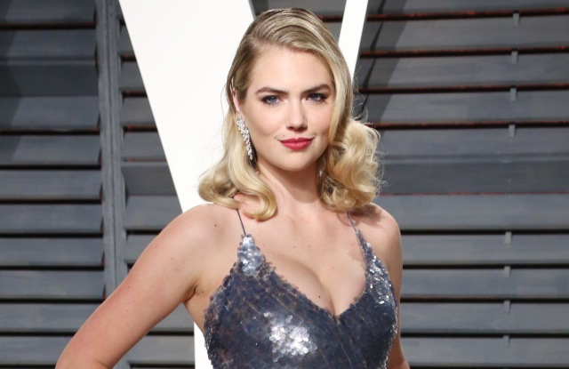 Kate UptonVanity Fair Oscar Party, Los Angeles, USA - 26 Feb 2017WEARING THAKOON