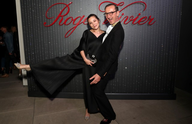 China Chow and Bruno Frisoni Roger Vivier event, Los Angeles, USA - 04 May 2017