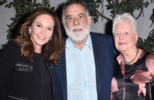 Diane Lane, Francis Ford Coppola, and Eleanor Coppola'Paris Can Wait' film screening, After Party, New York, USA - 04 May 2017