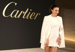 Miranda Kerr'Panthere de Cartier' watch launch, Arrivals, Los Angeles, USA - 05 May 2017