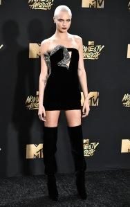 Cara DelevingneMTV Movie & TV Awards, Arrivals, Los Angeles, USA - 07 May 2017