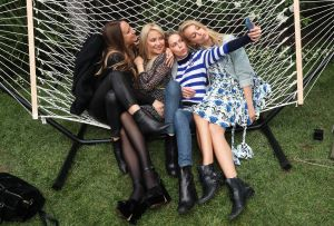 Jennifer Meyer, Kate Hudson, Erin Foster and Kelly SawyerDemi Lovato for Fabletics launch party, Los Angeles, USA - 10 May 2017