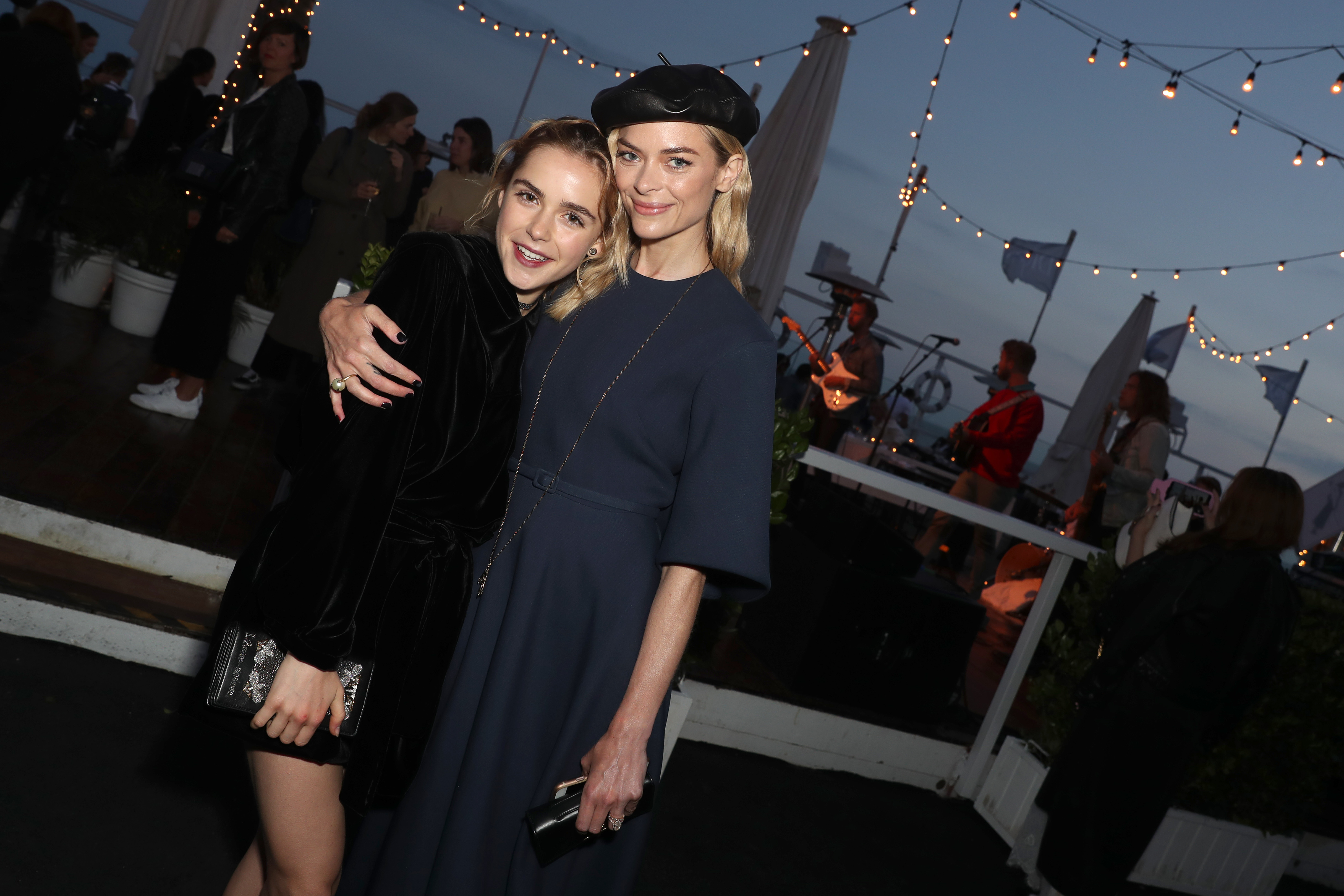 Kiernan Shipka and Jaime King Christian Dior Cruise 2018 Welcome Dinner, Dior Surf Club, Los Angeles, USA - 10 May 2017