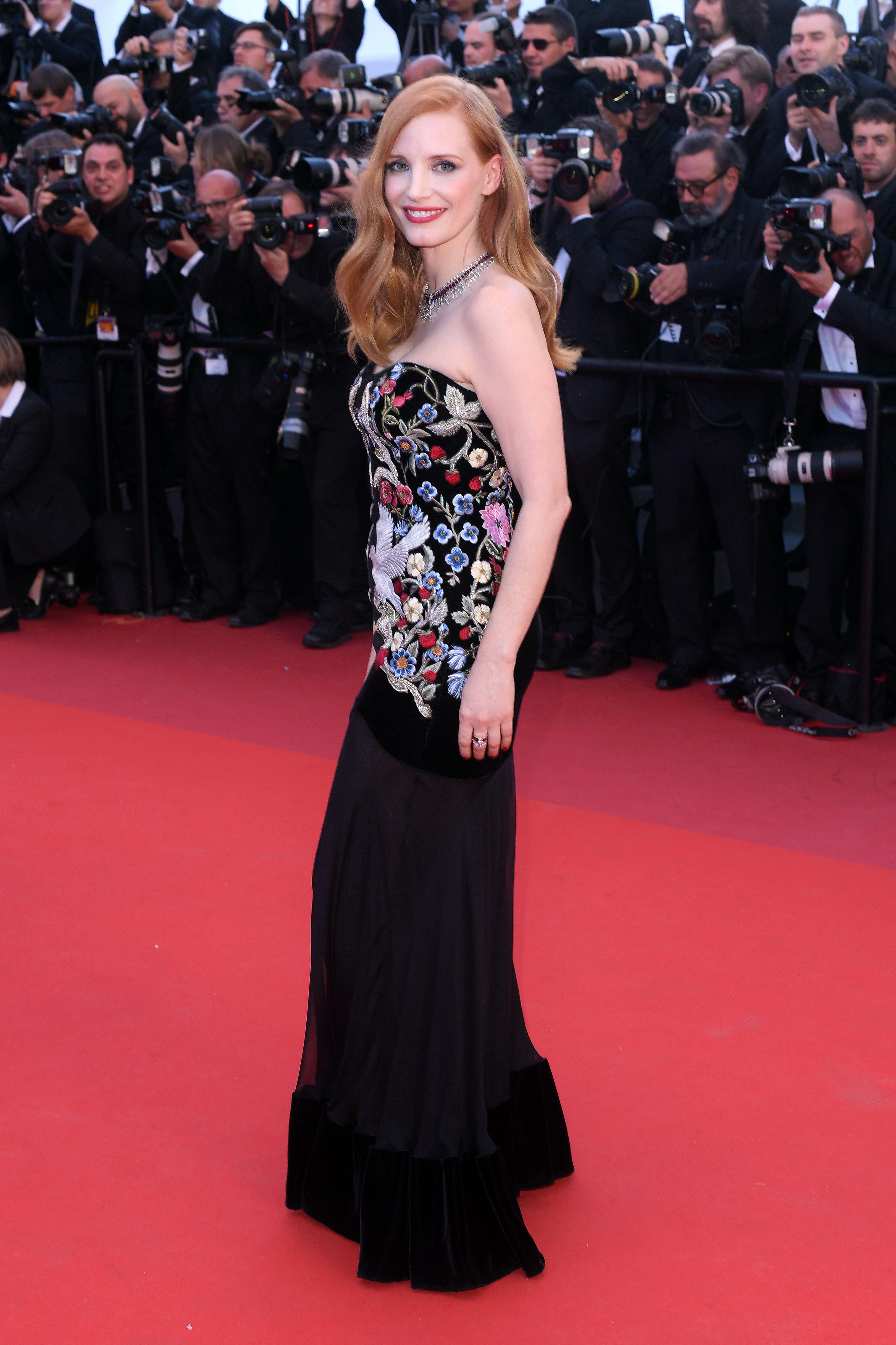 Jessica Chastain'Ismael's Ghosts' premiere and opening ceremony, 70th Cannes Film Festival, France - 17 May 2017