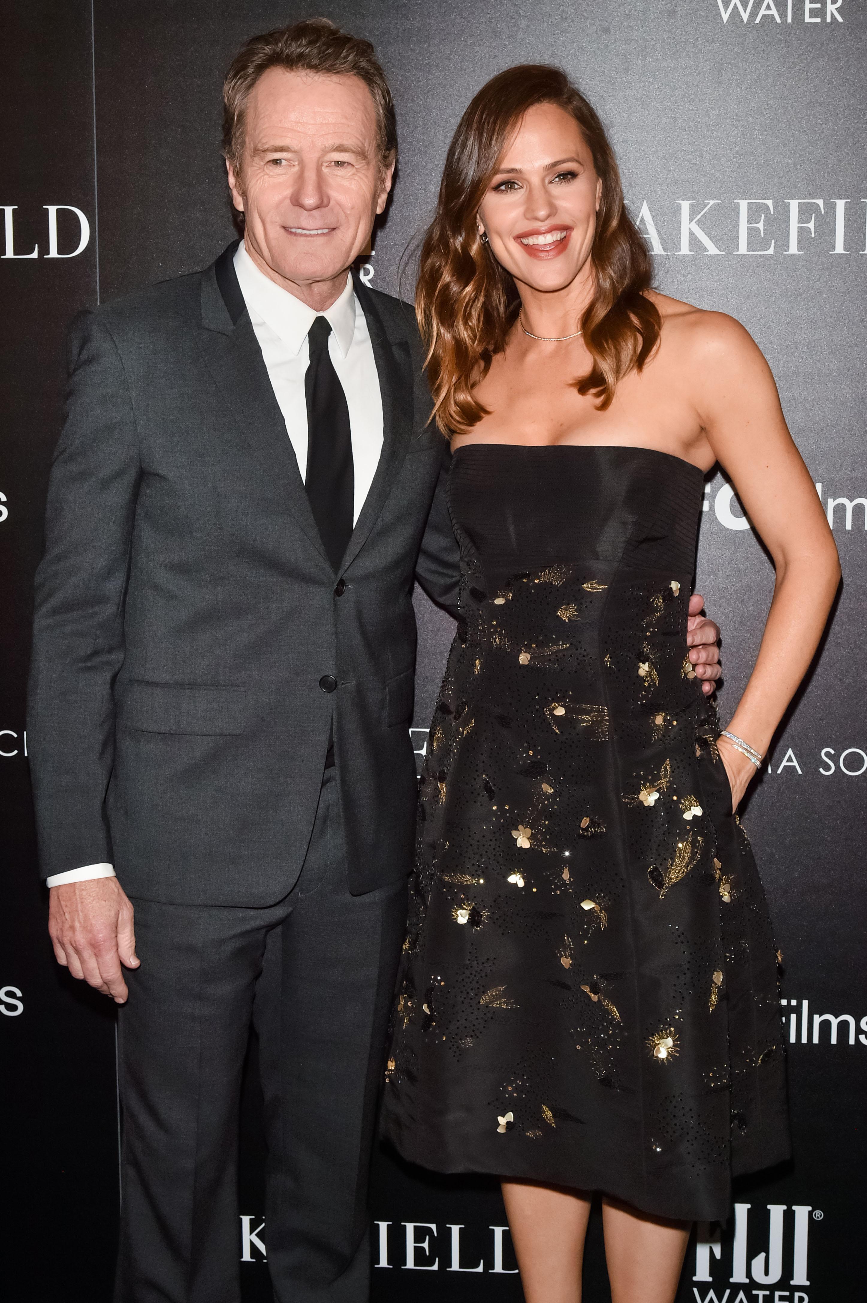 Bryan Cranston, Jennifer Garner'Wakefield' film screening, Arrivals, New York, USA - 18 May 2017