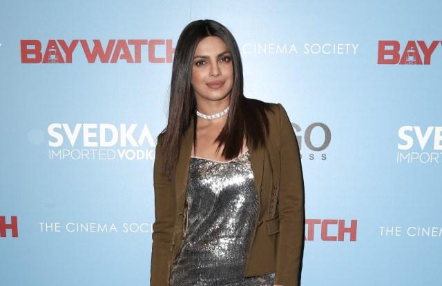 Priyanka Chopra'Baywatch' film screening, Arrivals, New York, USA - 22 May 2017WEARING ROBERTO CAVALLI