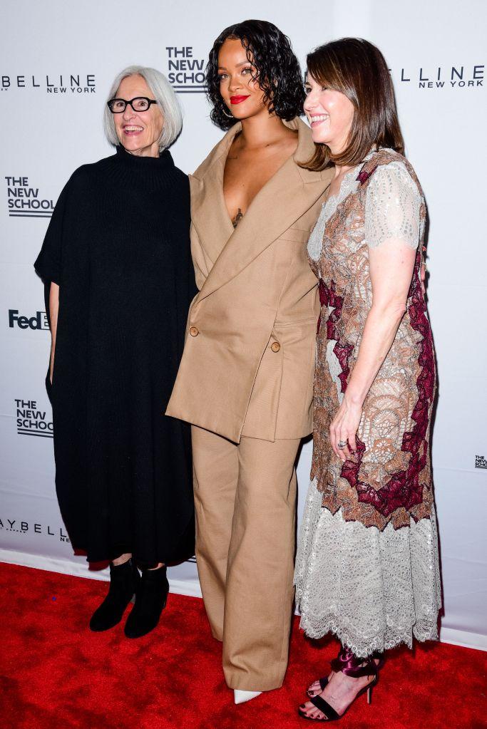 Eileen Fisher, Rihanna, Karen Katz69th Parsons School of Design Benefit, Arrivals, New York, USA - 22 May 2017