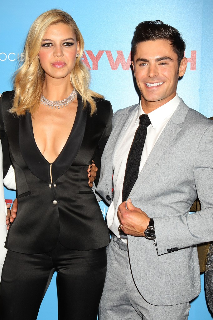 Kelly Rohrbach and Zac EfronA Special New York Screening of Paramount Pictures 'Baywatch', New York, USA - 22 May 2017
