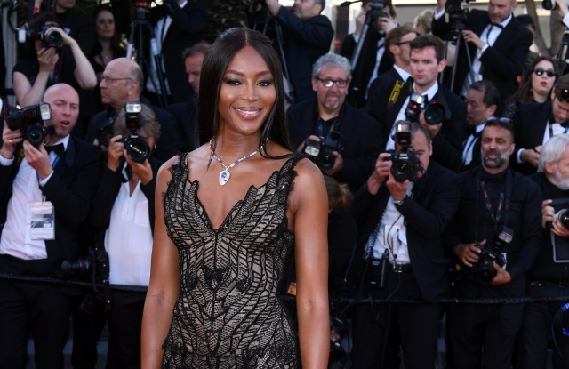 Naomi CampbellAnniversary Soiree, 70th Cannes Film Festival, France - 23 May 2017WEARING VERSACE