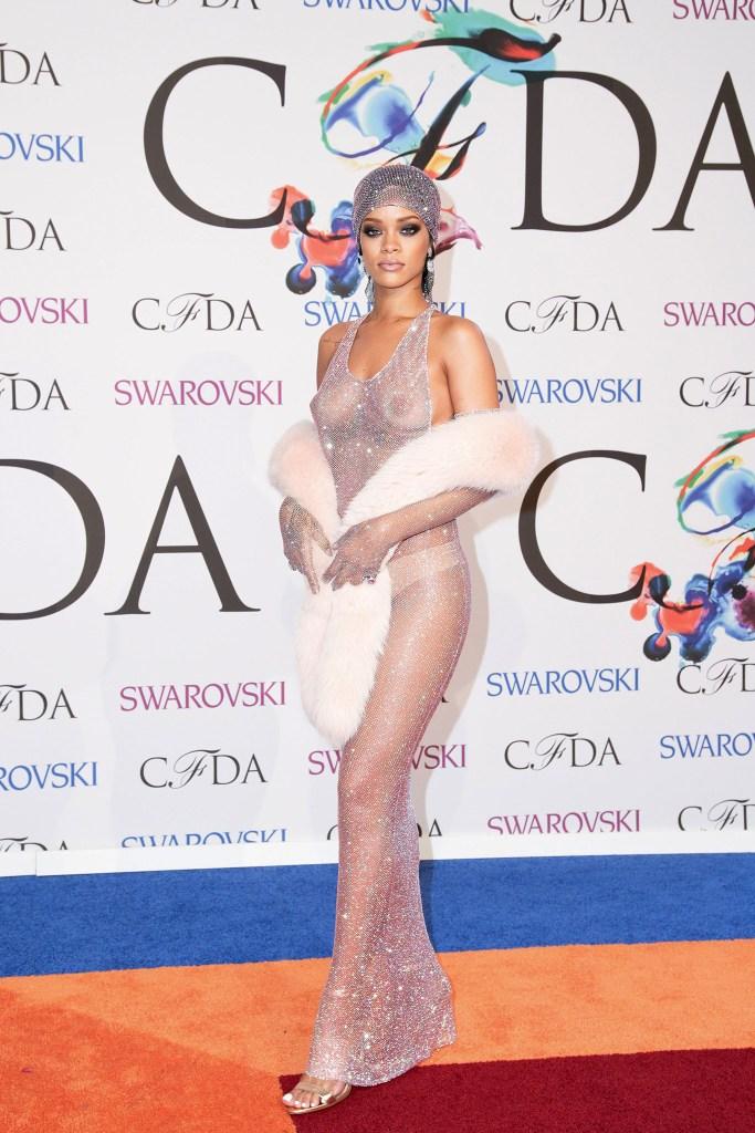 Rihanna2014 CFDA Fashion Awards, New York, America - 02 Jun 2014