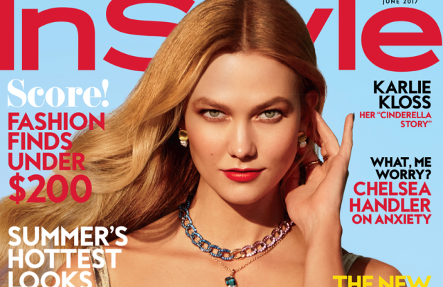 The June cover of InStyle.